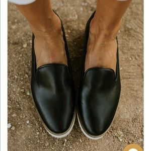 Roolee loafers BRAND NEW in box! Black, size 38.